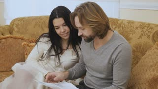 Married couple quarrels because of psychologist test