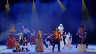 Modern fairytale in theatre