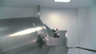 Modern pharmaceutical equipment in the laboratory