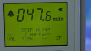 Screen of drip alarm