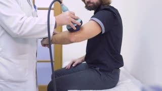 Ultrasound of elbow