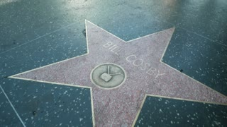 Bill Cosby star on the Hollywood Walk of Fame