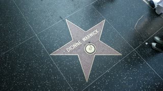 Dionne Warwick star on the Hollywood Walk of Fame