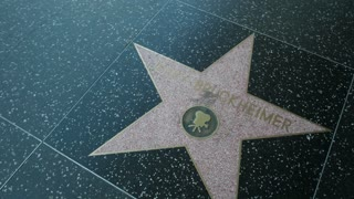 Jerry Bruckheimer star on the Hollywood Walk of Fame