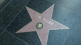 Tim Allen star on Hollywood Walk of Fame
