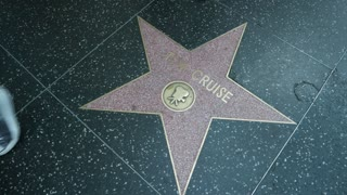 Tom Cruise star on the Hollywood Walk of Fame