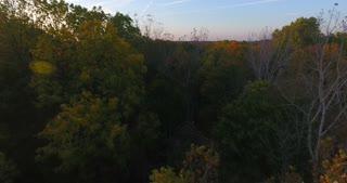 Fall Evening Aerial Flythrough