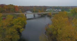 Fall River Bridge Aerial Flythrough