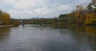 Fall River Bridge Flythrough Aerial