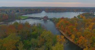 Fall River Dam Aerial