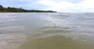 Lake Michigan Fall Aerial Waves