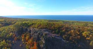 Lake Superior Aerial Rise