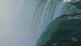 Niagara Falls Flowing Over Edge Canada