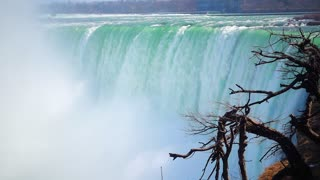 Niagaria Falls Slow Mo Waterfall