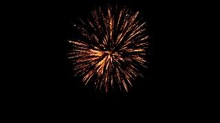 4K Slow Mo Fireworks Exploding On 4th Of July Independance Celebration Freedom Fire Hot Burning