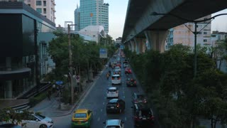 Bangkok Thailand Traffic City 4K 60fps