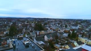 Bethlehem Pa Aerial Flyover Pennsylvania Industry Growing City