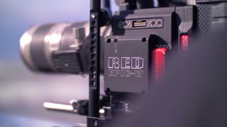 Filmmaker Red Epic W Weapon Camera Helium 8K Canon Lens Film 4K