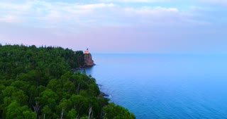 Lake Superior Shore Northern Shipping Industry Water 4K Nature Wilderness