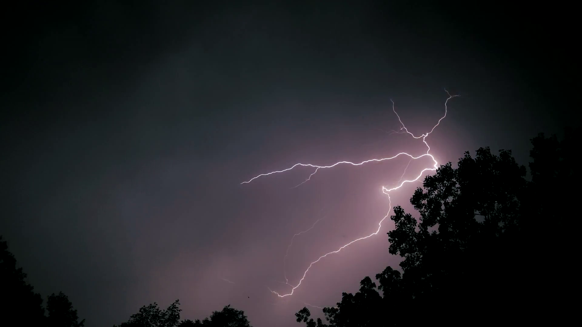 Massive Lightning Storm Extreme Weather Power Outage ...