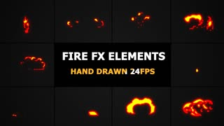 HD & 4K Fire Effects Effects And Lower Thirds Storyblocks Videos