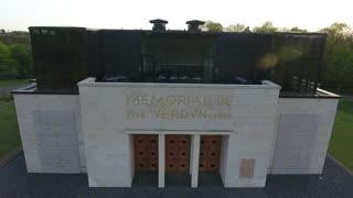 Museum memorial WW1 in Verdun France Lorraine. 1914-1918