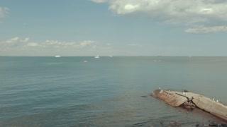 View of the calm sea