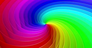 Looped colorful helix background
