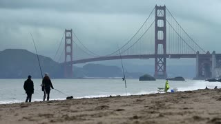 Baker Beach Dog Run