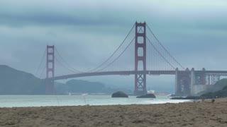 Baker Beach Golden Gate Time-lapse