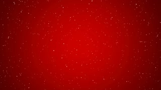 Holiday Snowfall on Red, Small (60fps)