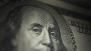 Hundred Dollar Bill, Franklin (25fps)