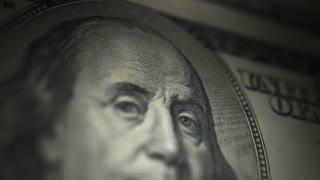 Hundred Dollar Bill, Franklin (30fps)