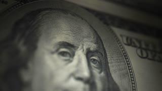 Hundred Dollar Bill, Franklin (60fps)