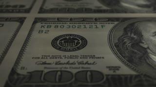 Hundred Dollar Bill Uncut (25fps)