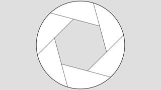 Iris Shutter Icon, Gradient w/ Alpha (24fps)
