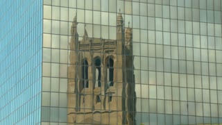 Modern Reflection of a Gothic Cathedral