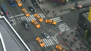 NYC Times Square Intersection