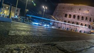 Roman Colosseum Street Time-lapse