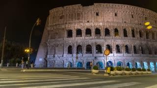 Roman Colosseum Time-lapse
