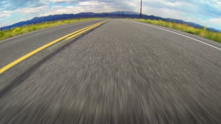 Speeding Down Open Road