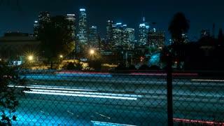 DTLA Freeway Time-lapse