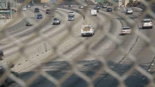 LA Freeway Fence Foreground