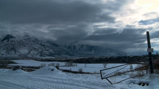 Wyoming Winter Time-lapse