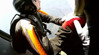 Accelerated free fall (AFF course) lessons in drop zone Chayka, Kyiv region.