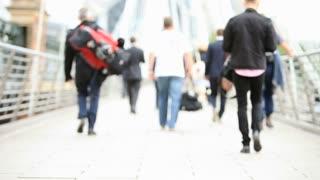 London business commuters