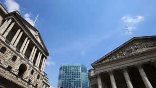 London financial institutions; Bank of England