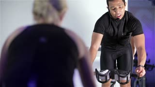 Spinning class: motivational training