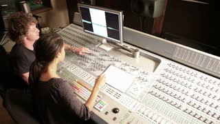Video production suite technicians