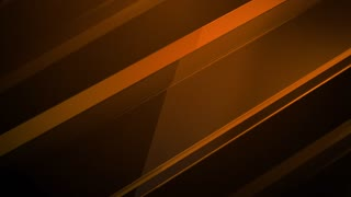 Gold glass cubes rotating against dark background in 3d animation